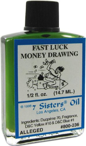7 Sisters Fast Luck Money Oil 1/2 fl  oz