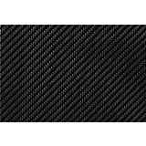 "Parts Express Black Carbon Fiber Style Tolex Vinyl Cabinet Covering Yard 54"" Wide"