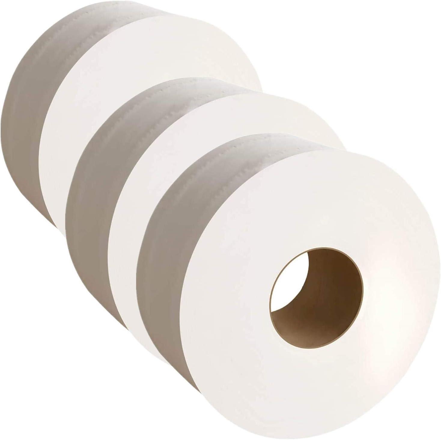 Mini Jumbo Toilet Tissue Dispenser 12 Rolls of 2ply Toilet Tissue