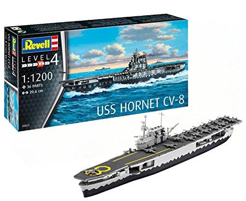 Revell 05823 USS Hornet CV-8, Multi Colour