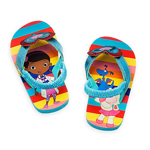 Price comparison product image Disney Store - Girls - Doc McStuffins - Flip Flops (5-6 US Toddler,  Blue)