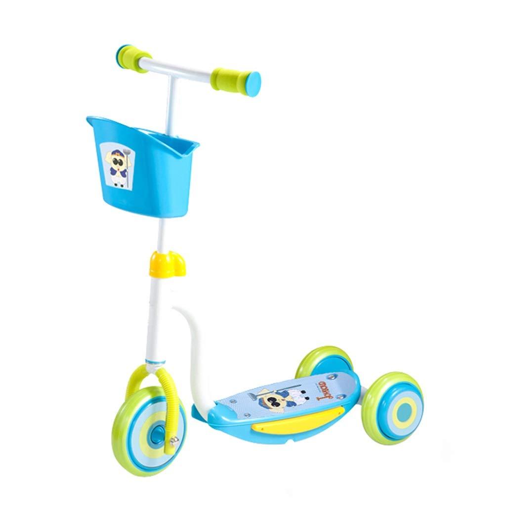【レビューを書けば送料当店負担】 漫画子供の3輪スクーター26歳の子供キックスクーター赤ちゃんのおもちゃ三輪車付きバスケット (色 : Blue Blue : Ba Jie) Blue Ba Jie Jie) B07PSMYV3M, PILEDRIVER DIGITAL:f0d130d0 --- senas.4x4.lt