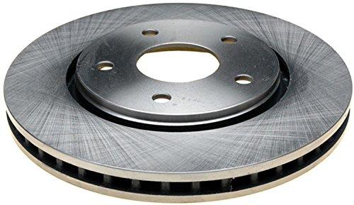 ACDelco 18A2606A Advantage Non-Coated Front Disc Brake Rotor