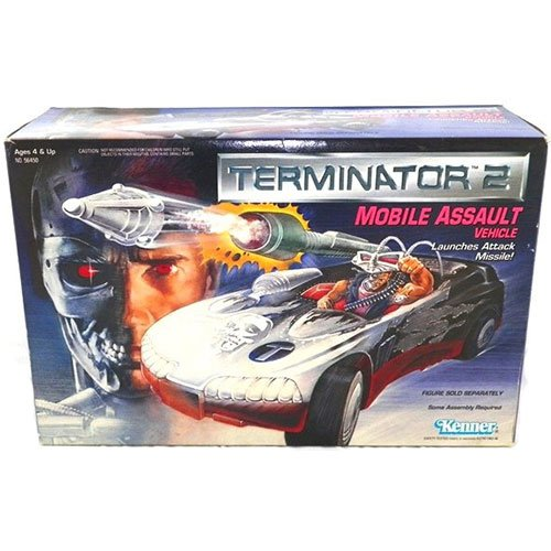 (Terminator 2 Mobile Assault Vehicle with Launching Attack Missile)