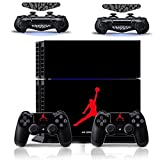 MATTAY-Jordan-Whole-Body-Vinyl-Skin-Sticker-Decal-Cover-for-PS4-Playstation-4-System-Console-and-Controllers