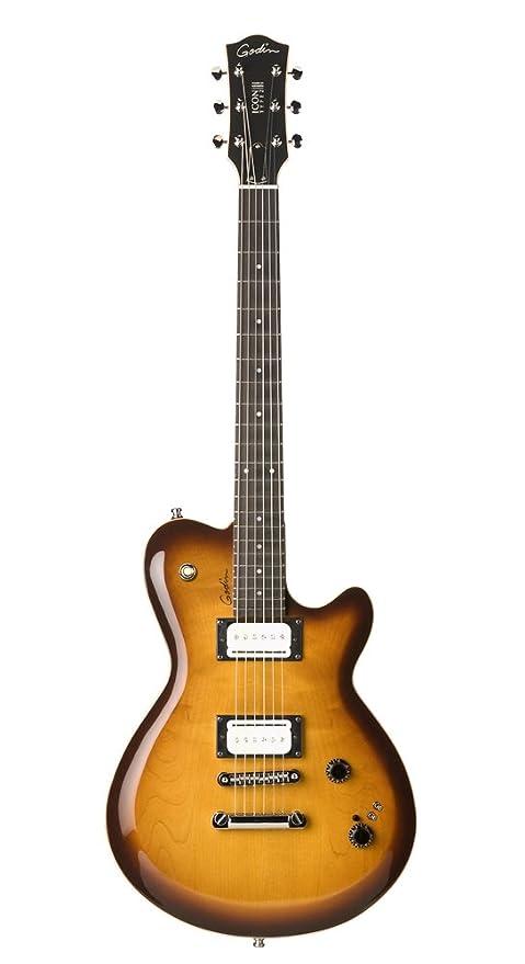 Godin icono tipo 2 Convertible guitarra eléctrica, sunburst ...