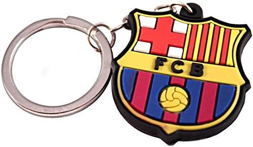 FCB FC Barcelona 599386031 - Key-Escudo Goma Barcelona  Amazon.es ... dd457fd3b0a