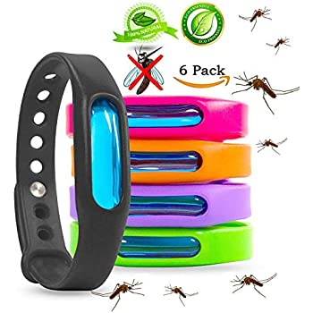 Amazon Com Mosquito Repellent Bracelets Natural