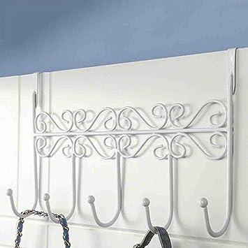 Perchero Vintage acero inoxidable - Colgadero toallero pared ...