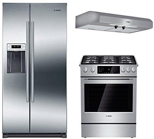 Amazon Com Bosch 3 Piece Stainless Steel Kitchen Package With