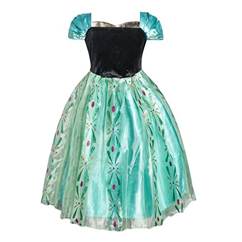 iFigure Girl's Summer Princess Dress up Costume Fancy Party Dress by iFigure (Image #1)