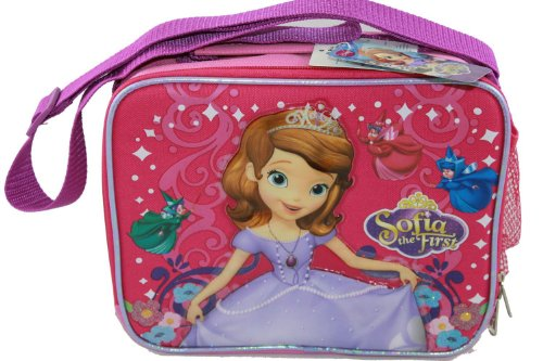 Pink Sophia the First Lunch Bag - Dora Lunch Box