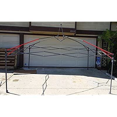 Coleman 10x10 New Instant Sun Shelter Canopy -Lower Peak Truss Bar 43 1/4