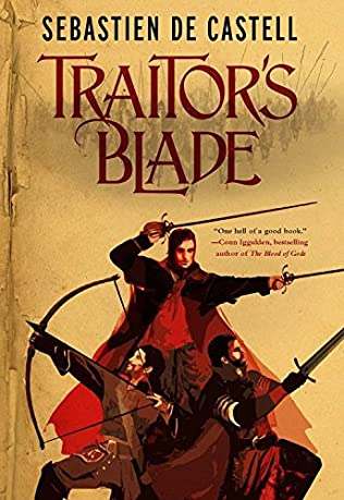 book cover of Traitor\'s Blade