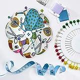 eZAKKA Wrist Pin Cushions Sewing Needle Cushion