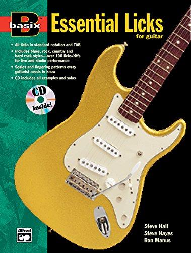 Basix Essential Licks for Guitar: Book & CD (Basix(R) Series) ()