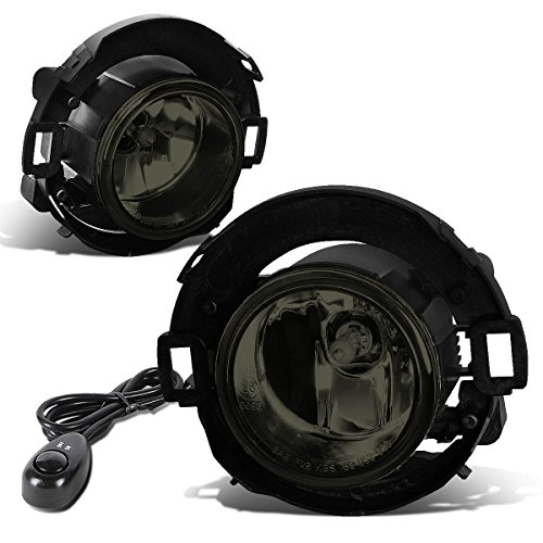 For Nissan Xterra/Frontier Pair of Bumper Driving Fog Lights + Switch (Smoked Lens)