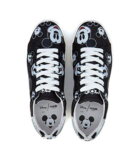 Zapatos Of Deporte Arts Piel Master De Negro En Mujer Nuevo Moa Zapatillas BqwtAA5