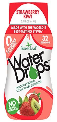 [SweetLeaf Water Drops, Strawberry Kiwi, 2.1 Ounce] (Sweet Strawberry)