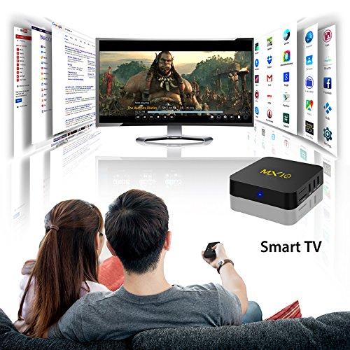 NEW R-TV BOX MX10 4G DDR3 RAM 32G ROM Rockchip RK3328 Android 8.1 Quad Core 64-Bit 4K USB 3.0 UHD WiFi H.265 TV Box Media Player by omikai (Image #5)