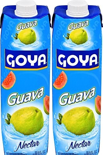 Goya Guava Nectar 33 8Oz  Pack Of 02