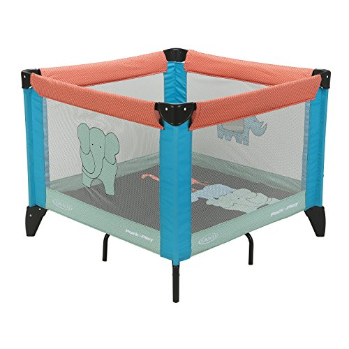 Graco Pack 'n Play Tot Bloc Playard, Caravan
