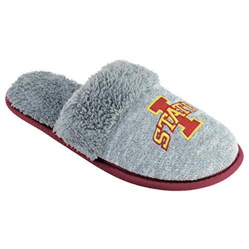 College Edition NCAA Iowa State Cyclones Women's Scuffscuff Shoes, Gray, Small ()