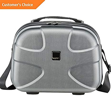 Amazon.com | Sandover Titan Bags X2 12.5 Hardside Beautycase 3 Colors Hardside Carry-On NEW | Model LGGG - 2398 | | Carry-Ons