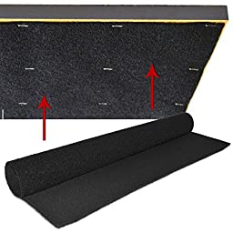 Gun Storage Solutions Pack of 20 Rifle Rods Starter Kit with Loop Fabric (30 x 19-Inch)