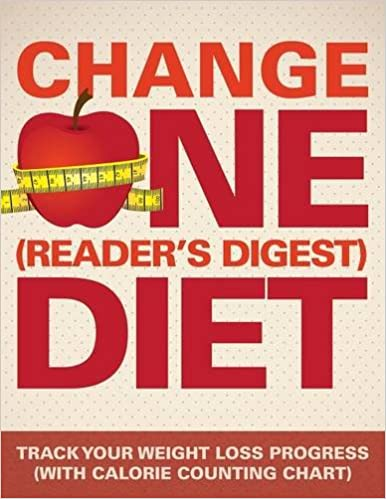 Change One Readers Digest Diet Track Your Weight Loss Progress