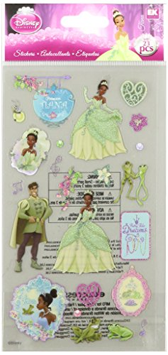 Disney Princess and The Frog Sticker