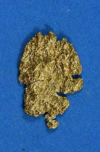Alaskan-Yukon BC Gold Rush Natural Gold Nugget 0.28 Grams Genuine (Natural Gold Nugget)