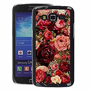A-type Arte & diseño plástico duro Fundas Cover Cubre Hard Case Cover para Samsung Galaxy Grand 2 (Summer Valentines Love Spring Flowers)