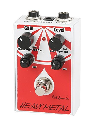 California Heavy Metal Guitar Effect Pedal, CHM-1 by California