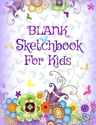 Blank Sketchbook for Kids (Doodle Designs Cover Style-Jumbo Size Drawing Book for Kids-Great for Kids Learning How to Draw) (Volume 74)