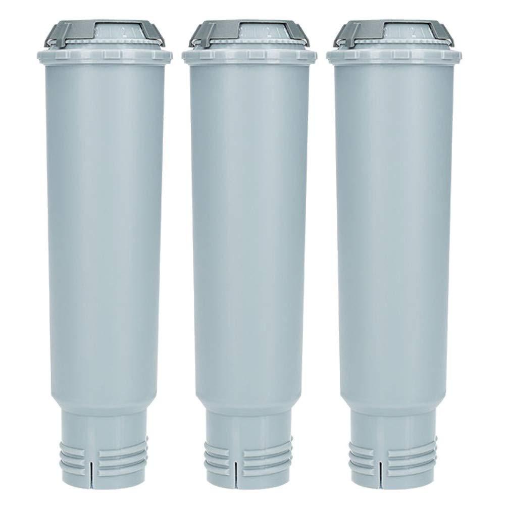 Bosch Wessper Filtros de Agua para Krups Claris F088 Filtros para M/áquina de Caf/é Cafeteras Siemens AEG Filtros Compatibles con Melitta Nivona NIRF-700 3 unidades