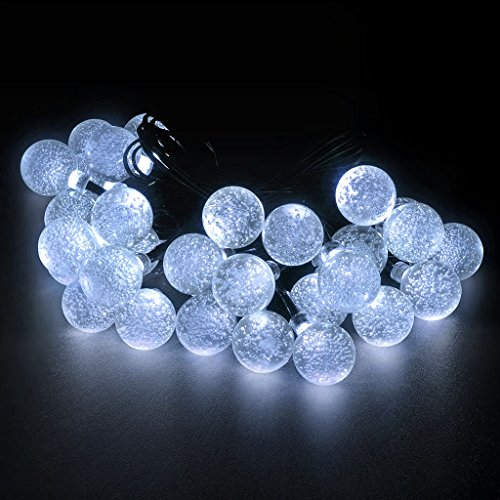 LED Concepts Solar LED Crystal Ball - (Solar Str Light)