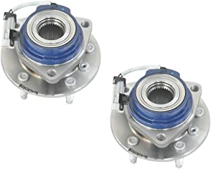 MAYASAF 513121x2 Axle Bearing Front Wheel Hub and Bearing Assembly 5 Lug w/ABS for Chevy Impala Venture, Buick Century, Cadillac DTS, Pontiac Grand Prix, Oldsmobile Aurora (2 PCS)