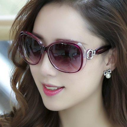 élégante nouvelle personnalité des lunettes de soleil mesdames les lunettes de soleil les lunettes la marée de stars visage rond korean les yeuxtransparent noir (tissu) jTSQBOi6