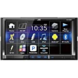 JVC 7 WVGA Motorized Touchscreen BT Sirius ready 2-Phone full-time connection