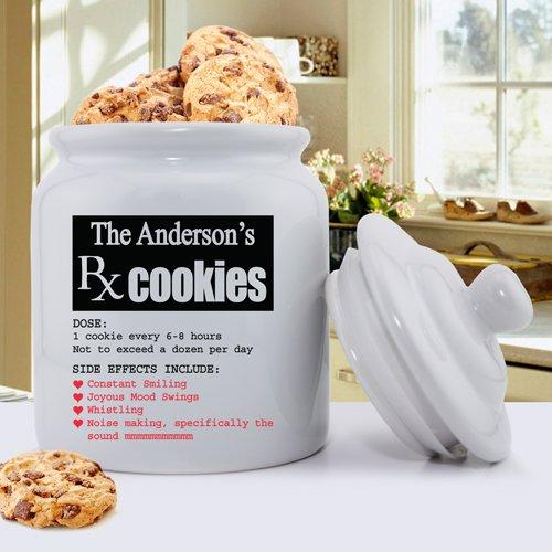 06cff5ea417 Amazon.com: Personalized Cookie Jar - Prescription for Smiles: Health &  Personal Care