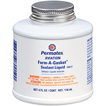 Amazon.com: Permatex 80011 Form-A-Gasket #2 Sealant, 11 oz ...