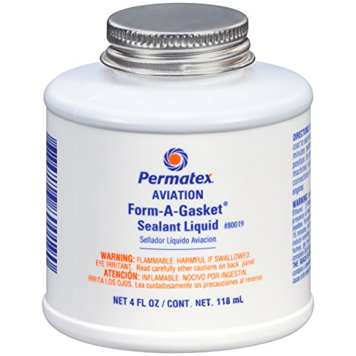 Permatex 80019 Aviation Form-A-Gasket No. 3 Sealant, 4 oz.