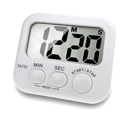 Amazon.com: Kitchen Timers - Digital Timer Large Screen Font ...