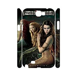 C-EUR Pirates of the Caribbean Customized Hard 3D Samsung Galaxy Note2 N7100/N7102
