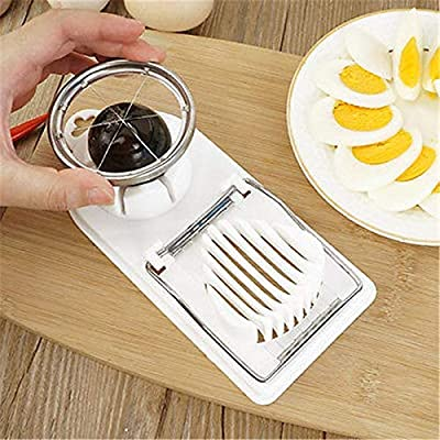 Flower Multifunction Cooking Cut Cutter 2 In 1 Egg Slicer Kitchen Tools