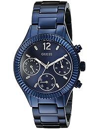 GUESS Women's U0323L4 Analog Display Japanese Quartz Blue Watch