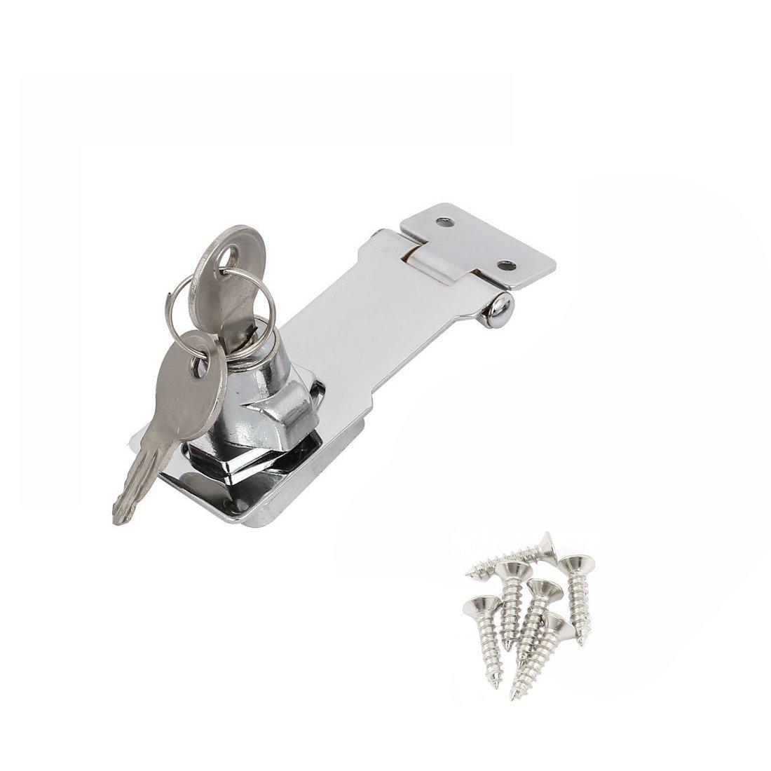 ZXHAO Avoid opening Lock locker door lock cabinet door lock cabinet lock shoe cabinet lock counter (3 inches)