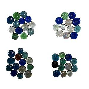 Jainsons Decorative Glass Stone, Multicolor