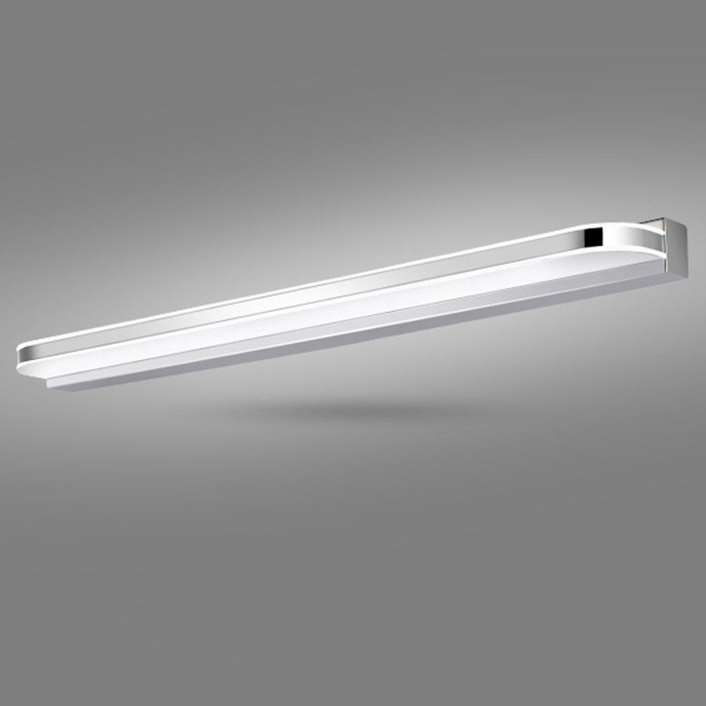badezimmerlampe Spiegel-vordere Lichter, geführtes wasserdichtes Anti-fog Badezimmer-Badezimmer-Spiegel-Licht-modernes Spiegel-Kabinett-Lichter führte Lichter (ausgabe   weißes Licht-70cm)